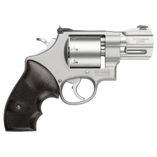 Smith & Wesson 627 357mag +p 2 5/8 8rd Ss Wood Grip