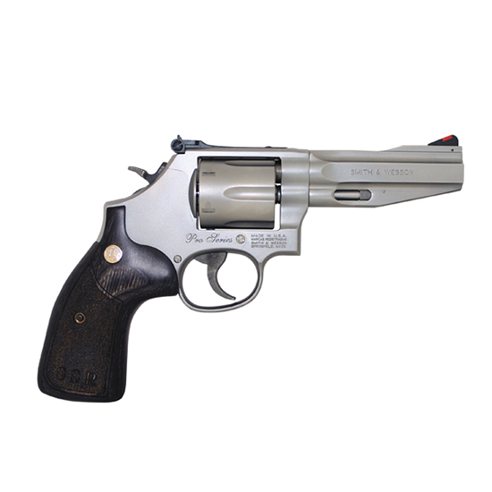 Smith & Wesson 686ssr 357mag 4 Ss 6rd As Wood Grip
