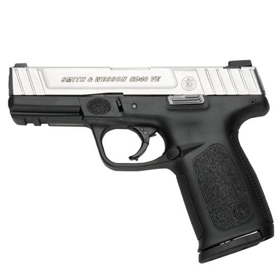 Smith & Wesson Sd40ve 40sw 4 14rd Ss Blk Poly