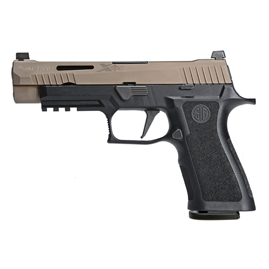 Sig Sauer P320 9mm 4.7 Vtac Two Tone Fde (3) 17rd