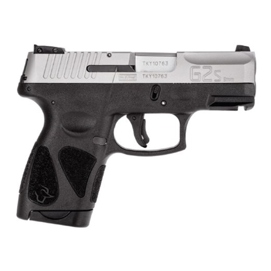 Taurus G2S 9mm Blk/ss 3.2 2<br>6rd Mag