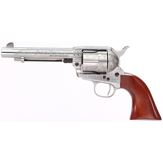 Taylor Firearms Uberti 1873 Cattleman 45lc Floral Engraved