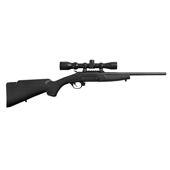 Traditions Crackshot 22lr 16.5 Blued Blk W/ 4x32
