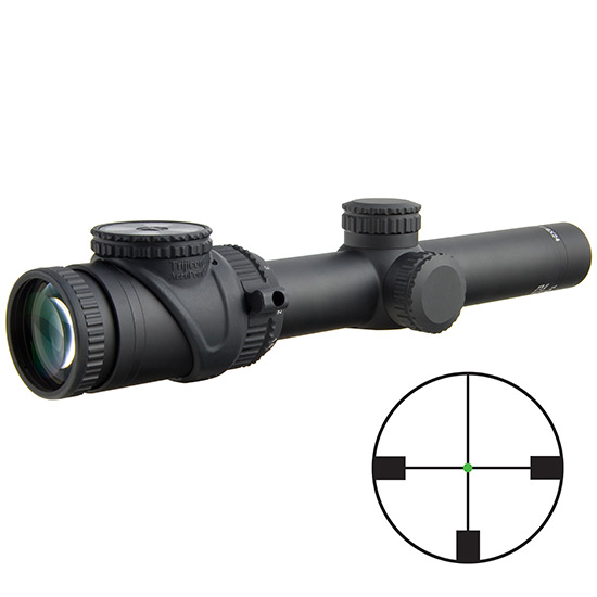 Trijicon Accupoint 1-6x24 Grn Ger #4 30mm