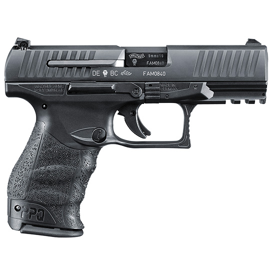 Walther Ppq M2 9mm 4 Black 15rd