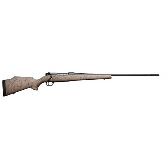 Weatherby MKV Ultra Lightwt 270WBY 26 Fluted Tan