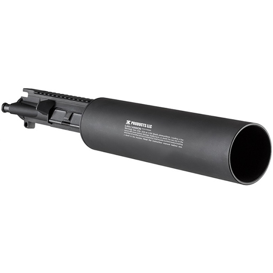X Products Upper 5.56 Soda Can Cannon Blk
