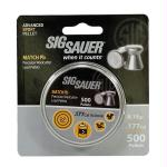 Sig Sauer Pellets 177cal Match Lead 500ct