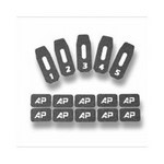AP CUSTOM PMAG MAG ID KIT, BLACK