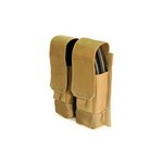 BLACKHAWK STRIKE M4 / AK DOUBLE MAGAZINE POUCH, COYOTE TAN