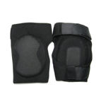 HELLSTORM NEOPRENE KNEE PADS, BLACK