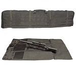 EAGLE HYBRID SHOOTING CASE AND RIFLE MAT, OLIVE DRAB