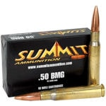 SUMMIT .50 BMG 649 Grain M33 MOD 1, 10 ROUND BOX