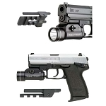 GG&G HK COMPACT USP PICATINNY RAIL FLASHLIGHT AND LASER MOUNT