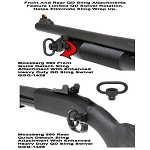GG&G Mossberg 590 Quick Detach Front & Rear Sling Attachments