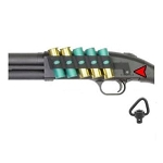 GG&G MOSSBERG SHOCKWAVE 5 SHOT SIDE SADDLE WITH QD ANGULAR SLING SWIVEL