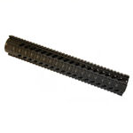 M4 15 INCH RIFLE LENGTH FREE FLOAT QUAD RAIL HANDGUARD