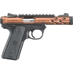 RUGER MARK IV 22/45 LITE WITH BRONZE THREADED BARREL