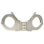 SMITH AND WESSON HANDCUFFS, MODEL 1, HINGED