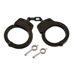SMITH AND WESSON HANDCUFFS, MODEL 100, MELONITE