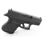TALON GRIPS, RUBBER FOR GLOCK 26 / 27 / 28 / 33 / 39