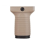 TAPCO INTRAFUSE SHORT VERTICAL GRIP, FLAT DARK EARTH