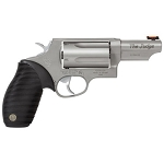 TAURUS JUDGE REVOLVER - 45 LONG COLT/410  GAUGE, MATTE STAINLESS