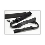 VIKING TACTICS WIDE BLACK PADDED SLING - UPGRADED