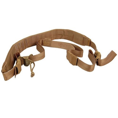 VIKING TACTICS WIDE COYOTE TAN PADDED SLING - UPGRADED