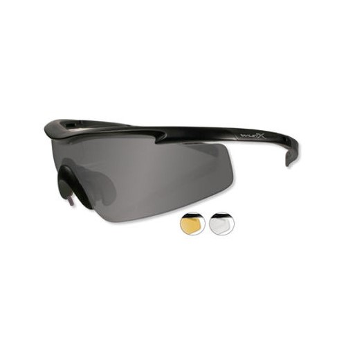 WILEY X PT-3 SUNGLASSES, 3 LENSE PACKAGE