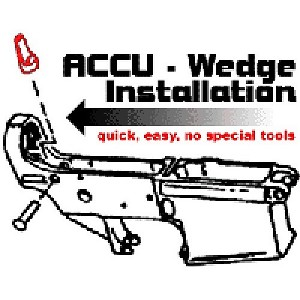 ACCU WEDGE FOR AR-15 RIFLES
