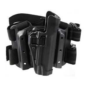 BLACKHAWK TACTICAL SERPA LEVEL 2 HOLSTER, GLOCK 20 / 21, RH