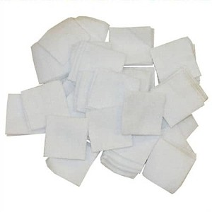 CED CLEANING PATCHES, 1.25 x 1.25 INCHES
