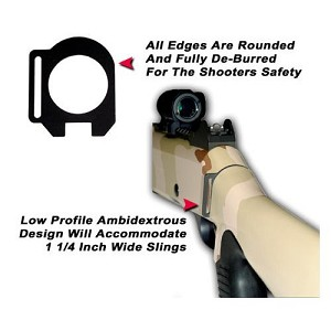 GG&G BENELLI M4 SINGLE POINT SLING ATTACHMENT, RH