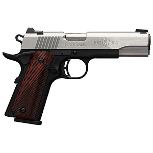 Browning 1911-380 380acp 8rd 4.25 Black Label Ss
