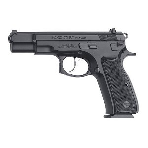 CZ USA 75 Bd 9mm Blk 10rd Charter Arms Compliant