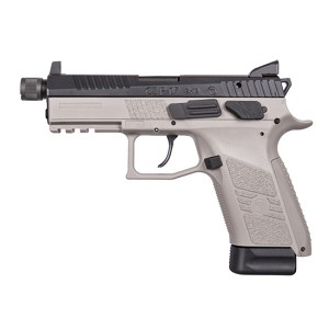 CZ USA P-07 9mm Urban Gry Frame Blk Slide Ns 10rd
