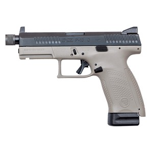 CZ USA P-10 Compact 9mm Suppressor Ready 10rd