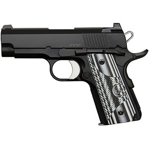 CZ USA Dw Eco 45acp Blk G10 Alloy Officer Size Ns