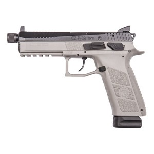 CZ USA 75 P-09 9mm Urban Gry Frame Blk Slide 21rd