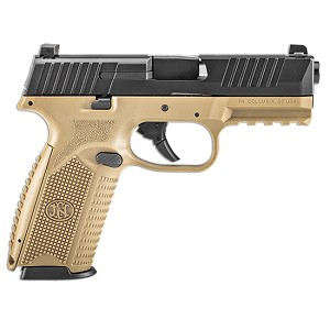 FN H Fn 509 9mm Fde Blk Ns 3 Mags