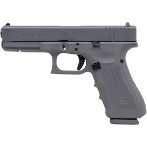Glock 17 Gen4 9mm 4.49 Gray Cerakote