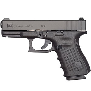 Glock 19 Gen4 9mm 4.02 Ns 10rd