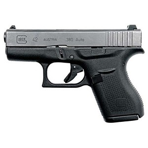 Glock 42 380acp 3.25 6rd Night Sights