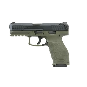 H&K Vp9 9mm Od Green Ns (3) 15rd