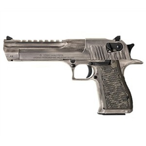 Magnum Research Desert Eagle 44mag 6 White Matte Distressed