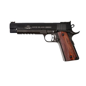 Rock Island Armory 1911 Pro Ultra Match 45acp 6 Long Slide Rail