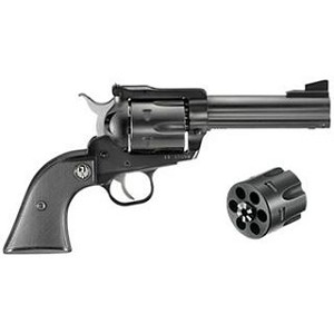 Ruger Blackhawk 45lc/45acp 4.5 Blued Convertible