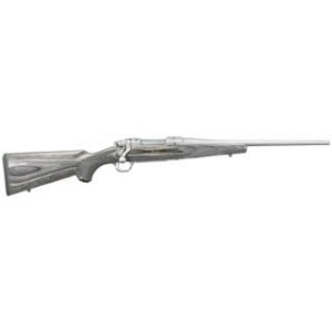Ruger M77 Hawkeye Compact 243win 16.5 Ss Blk Lam