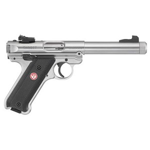 Ruger MKIV Target 22lr 5.5 Ss As Checkered Syn